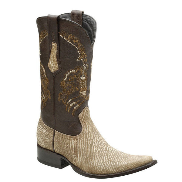 Cuadra Men's Shark European Toe Western Boot - VaqueroBoots.com - 2