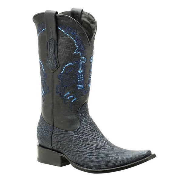 Cuadra Men's Shark European Toe Western Boot - VaqueroBoots.com - 1