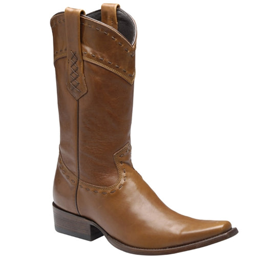 Cuadra Men's Botero Honey Cowboy Boots