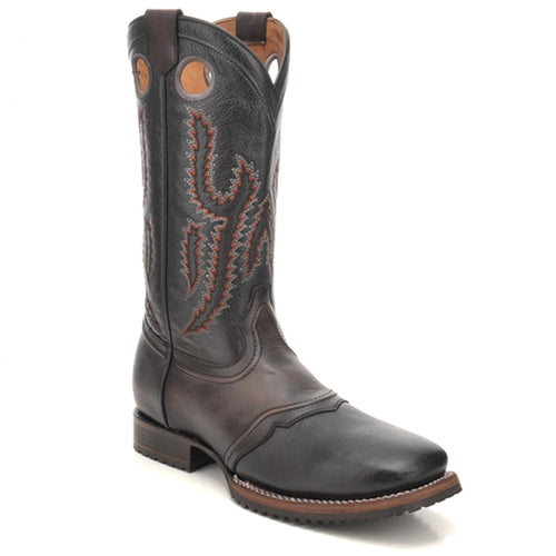 Cuadra Men's Santana Black Square Toe Boots