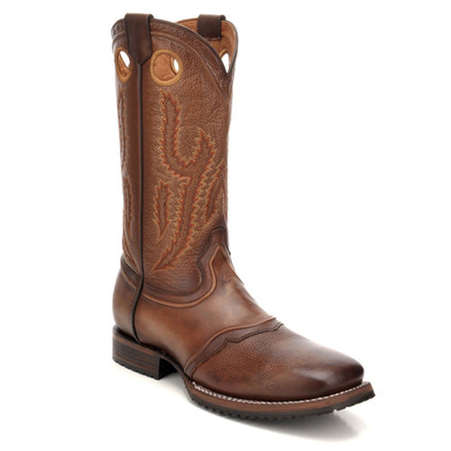 Cuadra Men's Santana Honey Square Toe Boots