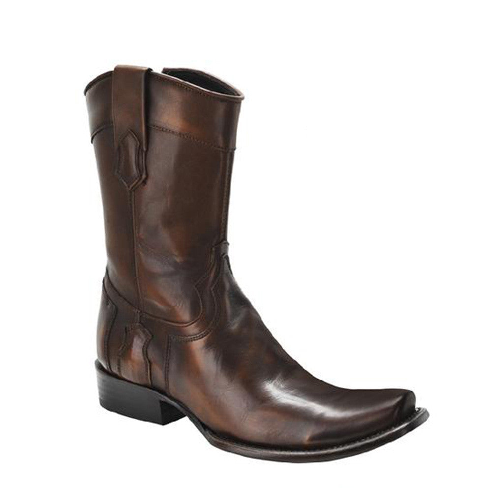 Cuadra Men's Western Boot Urban Toe Almond - VaqueroBoots.com