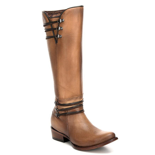 Cuadra Ladies Tall Boot Crust Arcilla - 1X2DCS