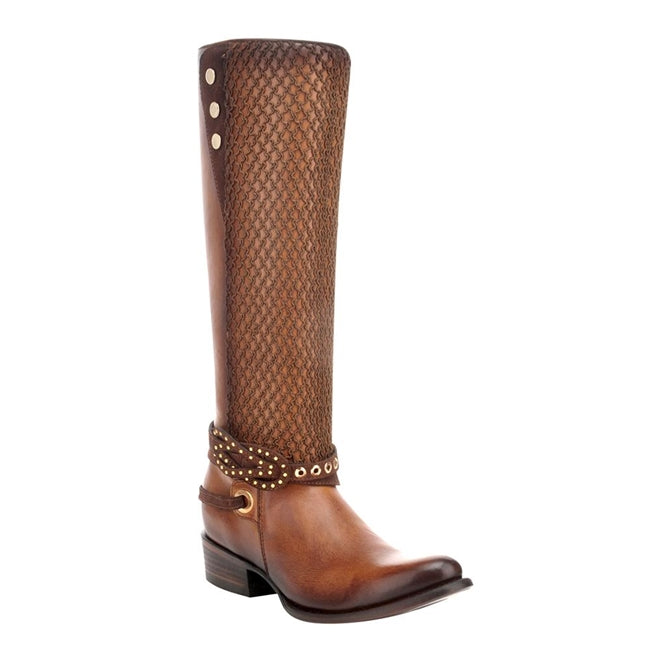 Cuadra Ladies Tall Tan Boots Res Volturno