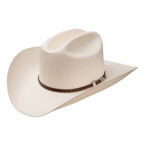 Stetson 100X Bar None Straw Cowboy Hat