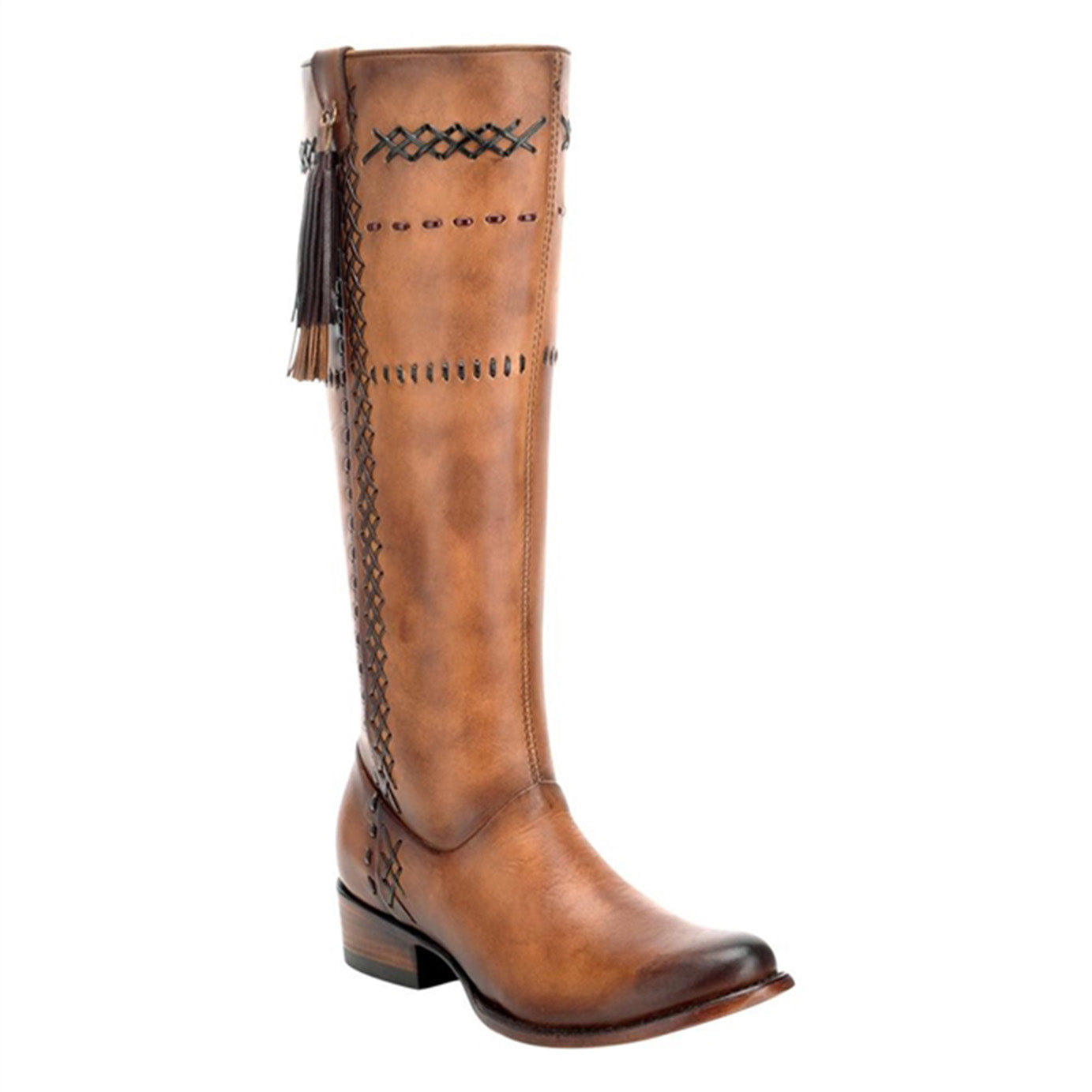 Cuadra Ladies Res Crust Biza Arena Tall Boot - 1X2XCS