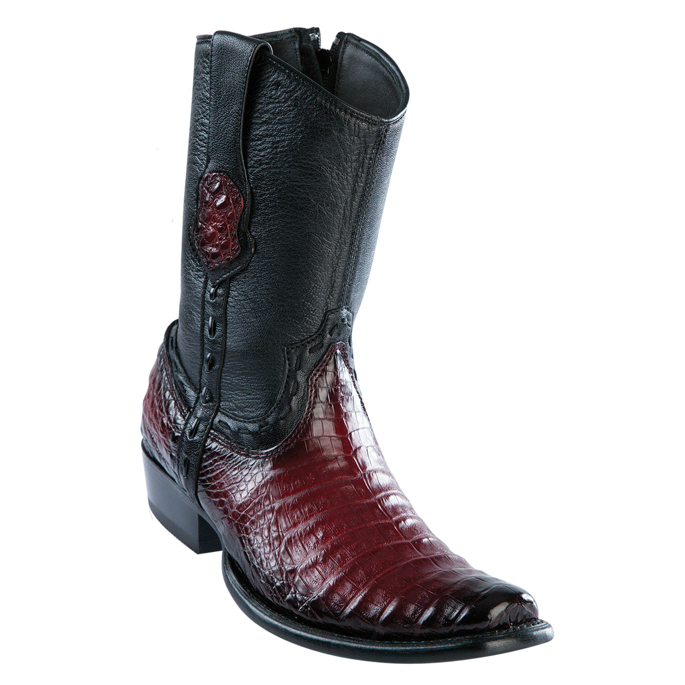 Wild West Boots - Men's Caiman Belly Dubai Short Boot