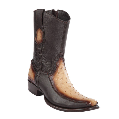 Wild West Boots - Men's Ostrich Dubai Short Boot