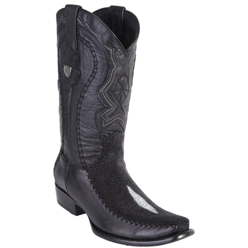 Wild West Boots Stingray Single Stone Dubai Toe
