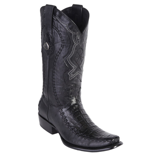 Wild West Men's Caiman Belly Stitched Dubai Toe Western Boots