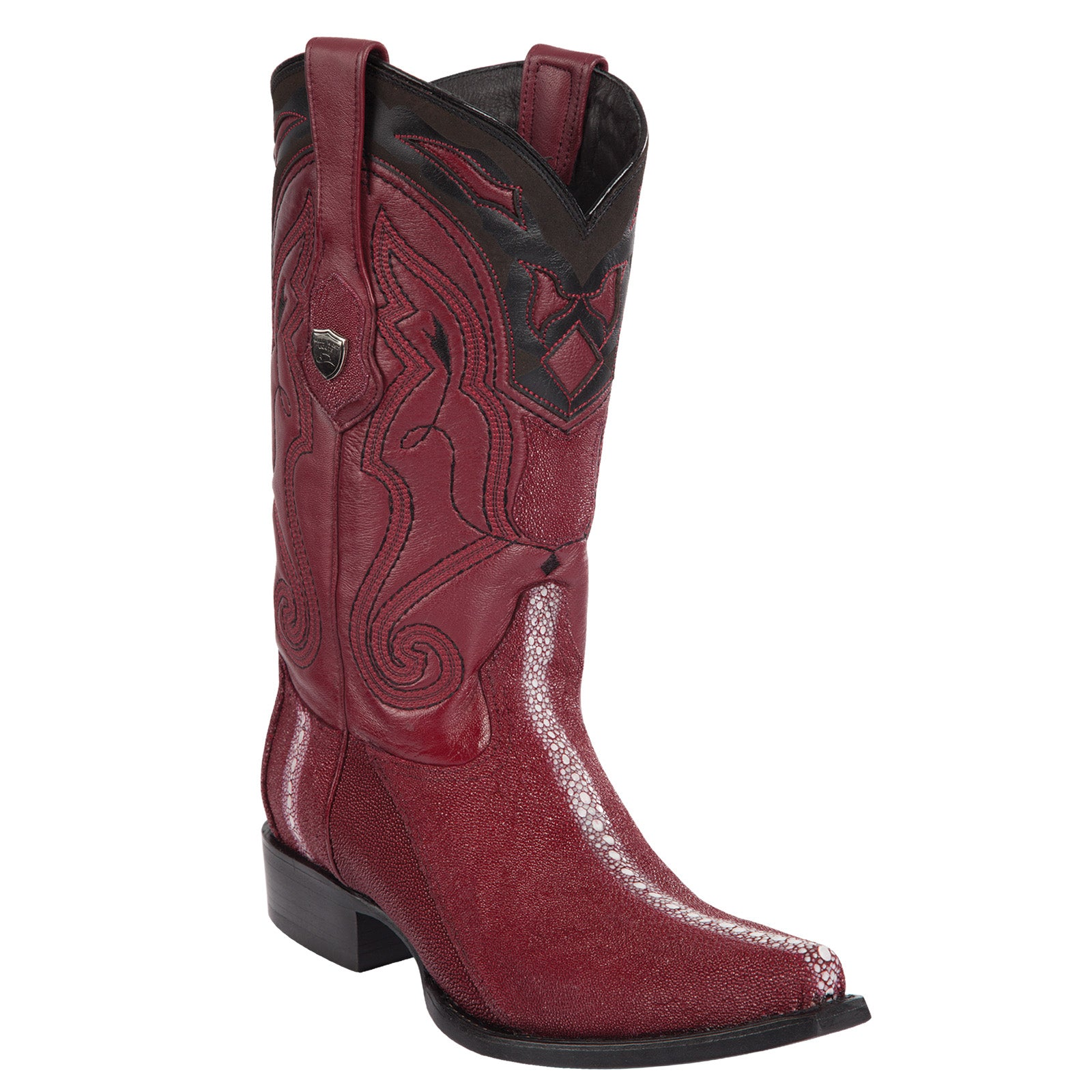 Stingray Rowstone Burgundy Snip Toe