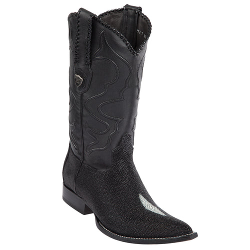 Stingray Single Stone 3x Pointy Toe Cowboy Boots