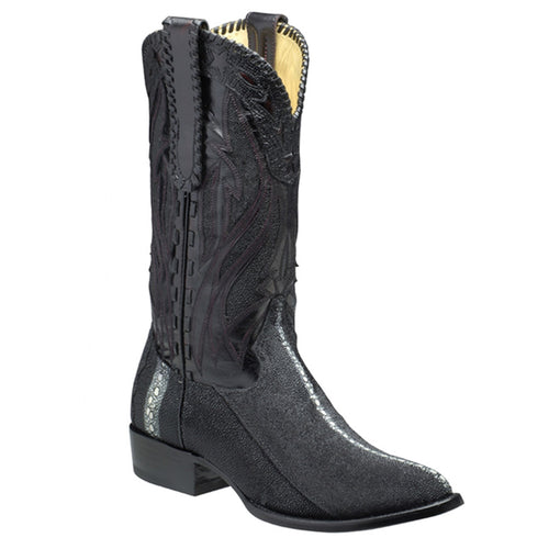 Cuadra Men's Large Pearl Stingray Western Boots R-Toe