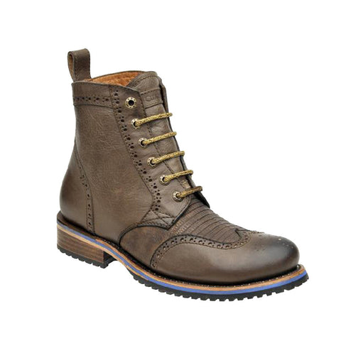 Cuadra Men's Lizard Teju Urban Dress Boot - VaqueroBoots.com