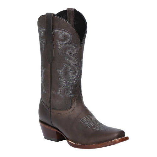 El General Women's Old Dog Square Toe Boots