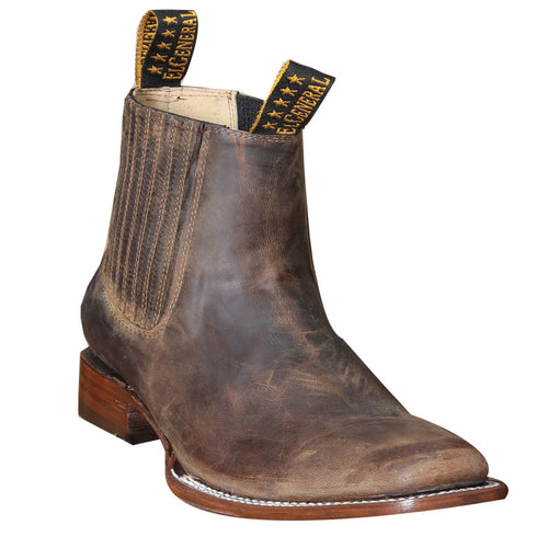 El General Men's Goat Square Toe Boot