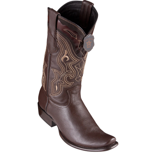 King Exotic Men's Elk Cowboy Boots - H79 Dubai Toe