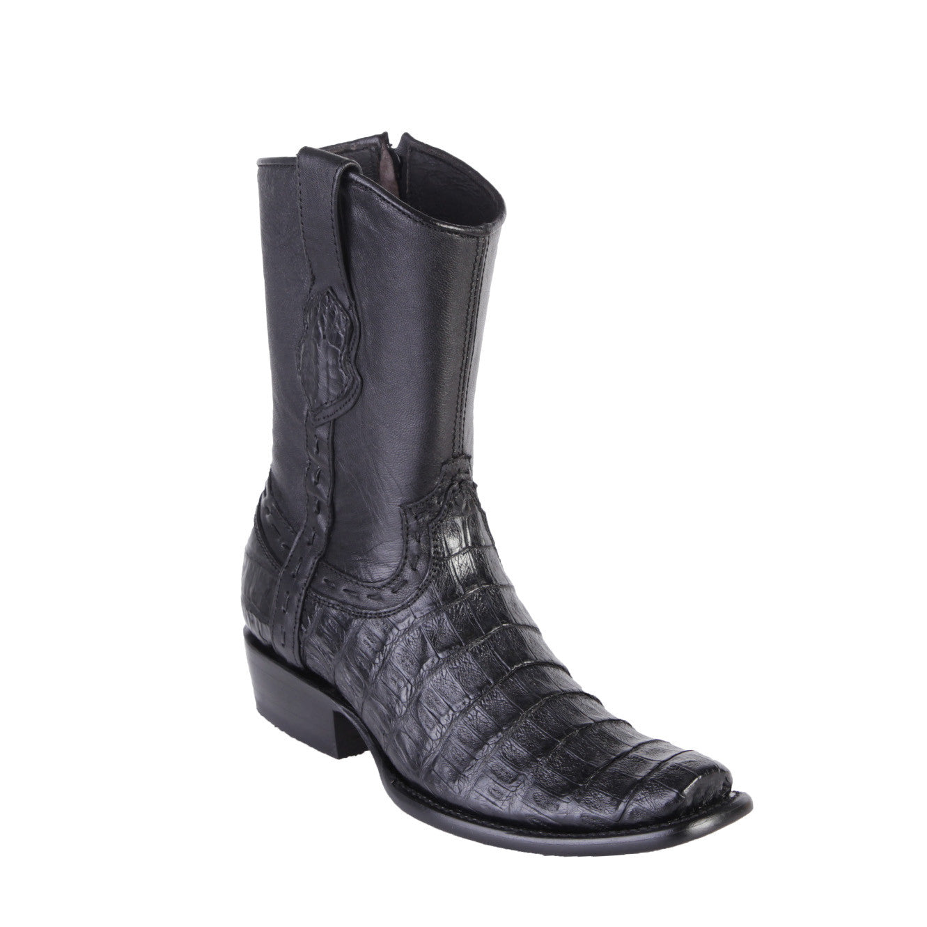 King Exotic Men's Dubai Toe Caiman Belly Boots