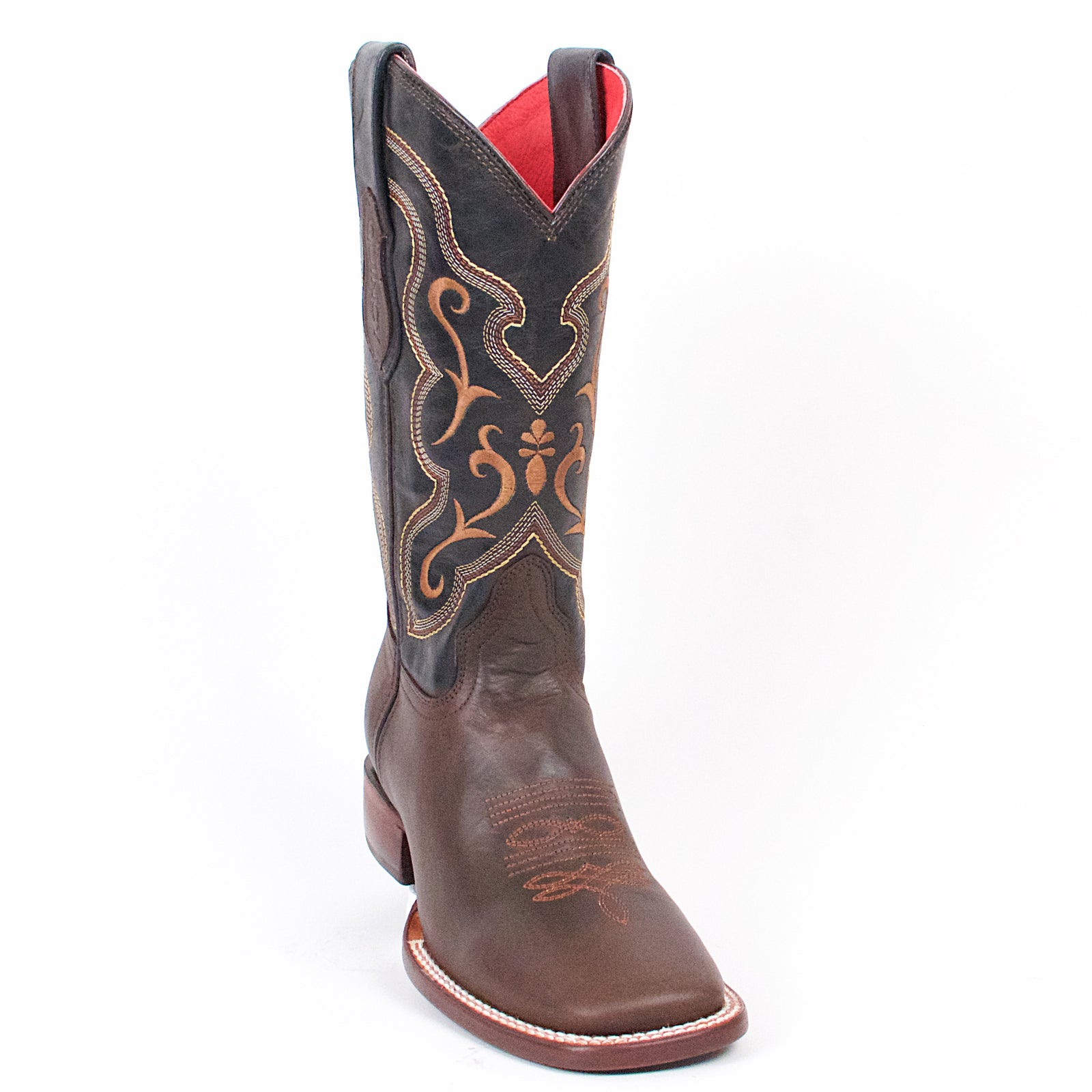 Quincy Wide Square Toe Cowgirl Boots