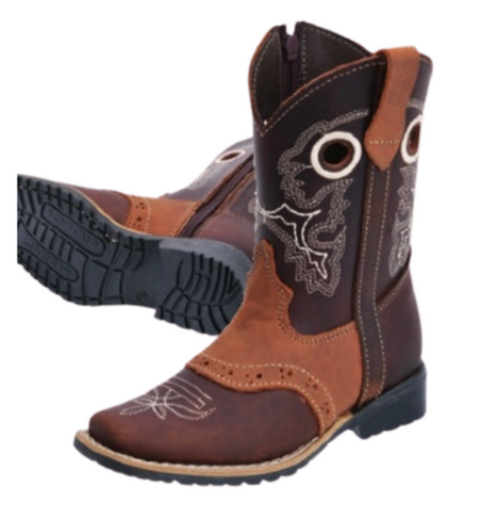 Kids Rodeo Square Toe Boots