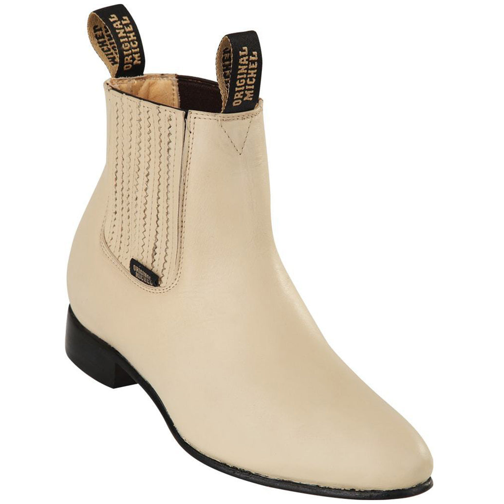 Original Michel Winter-White Ankle Boot