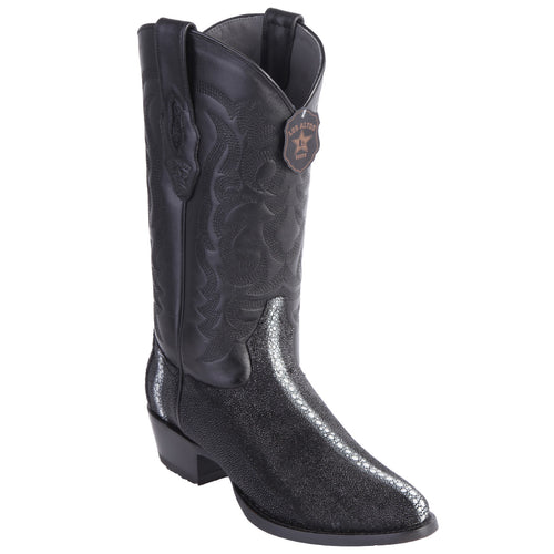 Los Altos Row-Stone Cowboy Boots R-Toe