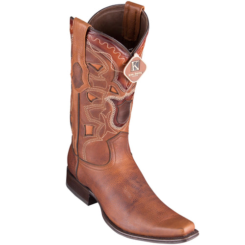 Los Altos Men's Rage European Toe Cowboy Boots - Walnut