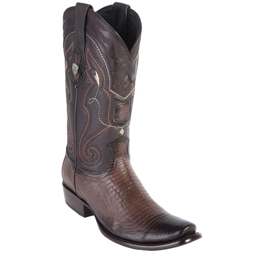 Wild West Men's Lizard Dubai Toe Boots
