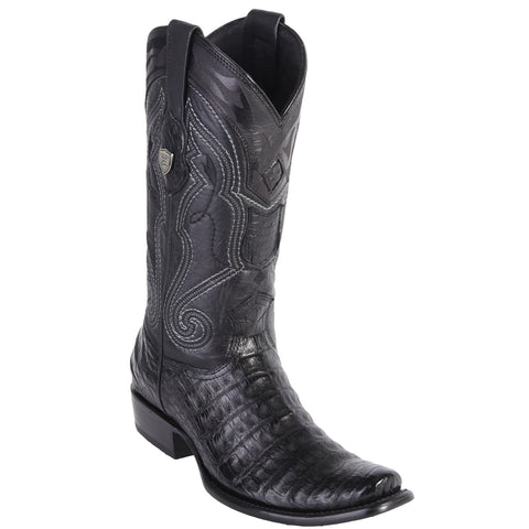 Wild West Men's Caiman Belly Boots Urban Toe