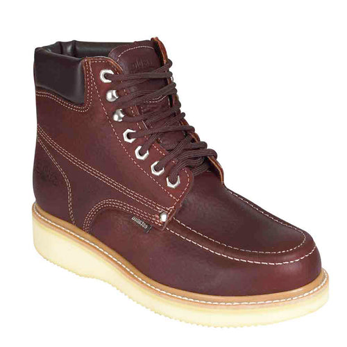 "Establo Brown Men's 6"" Mocc Toe Work Boots"