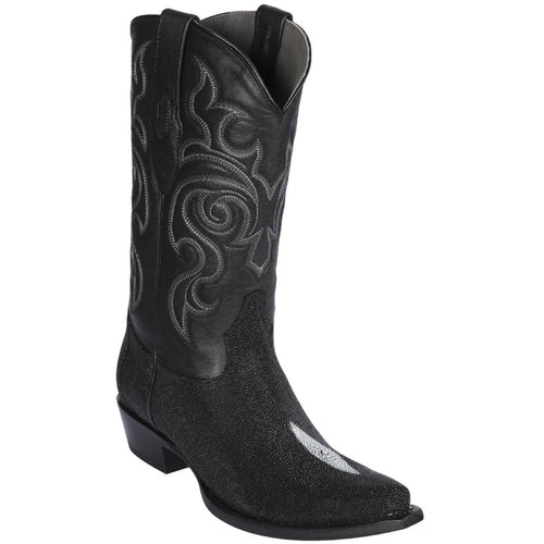 Los Altos Boots Men's Single Stone Stingray Boots