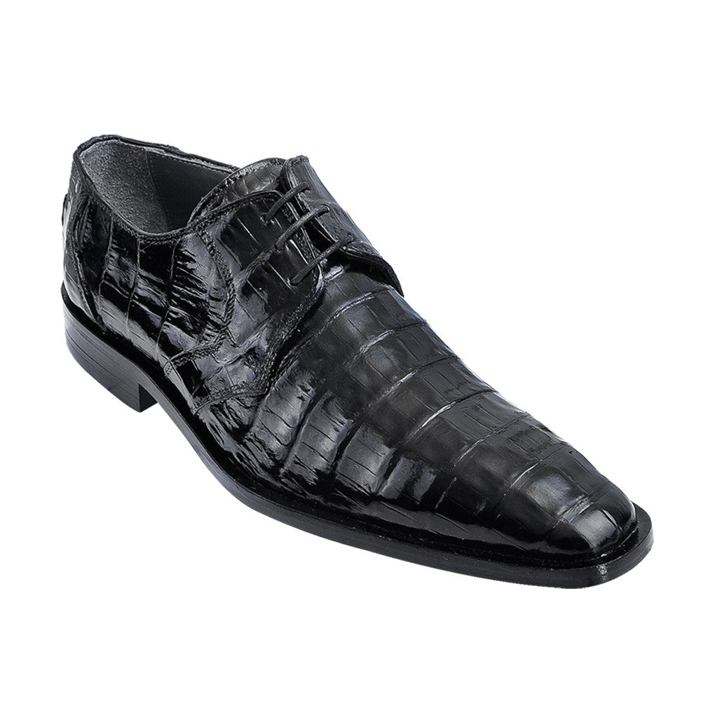 Los Altos Men's Caiman Dress Shoes - VaqueroBoots.com - 5