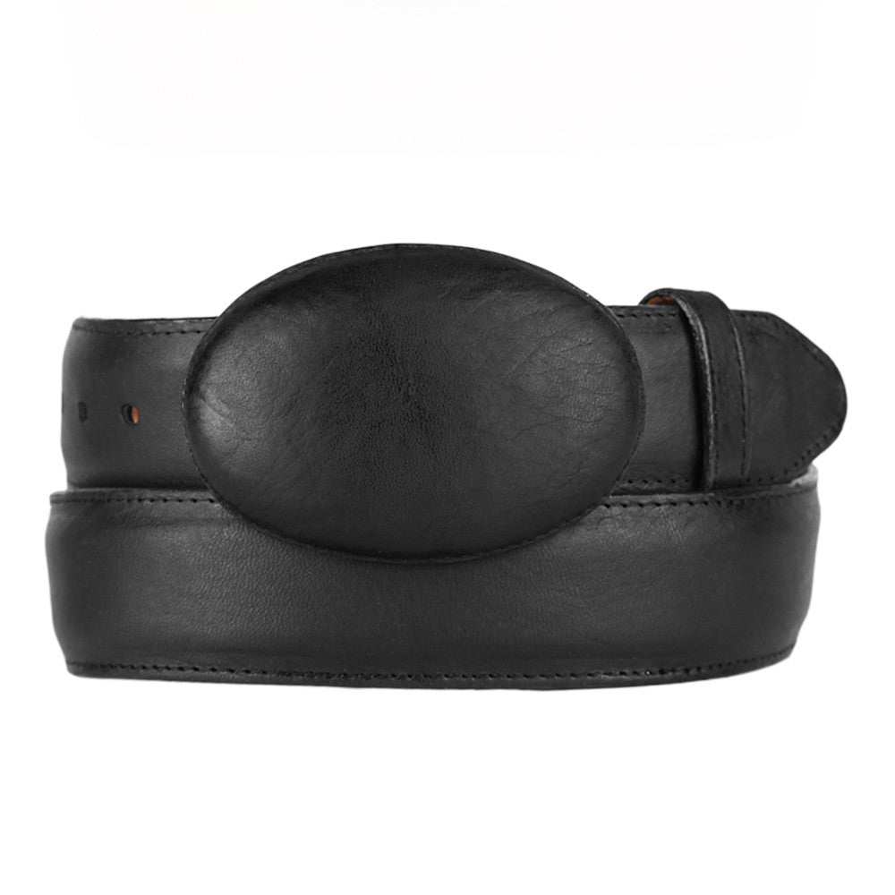 Men's Leather Belt Grisly - VaqueroBoots.com - 2
