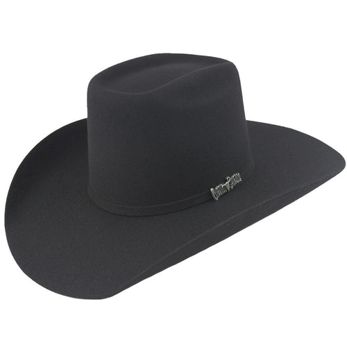 Cuernos Chuecos 6X Black Brick Crown Felt Hat