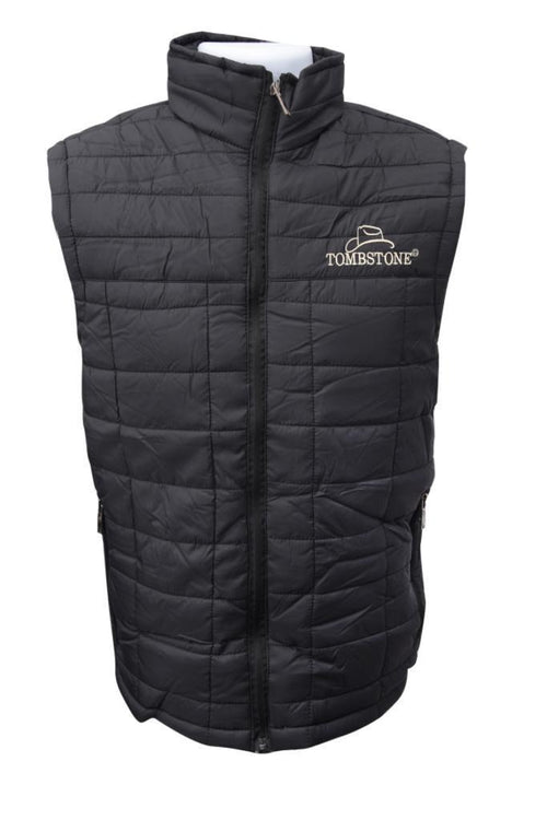 Tombstone Men's Zip-Up Vest