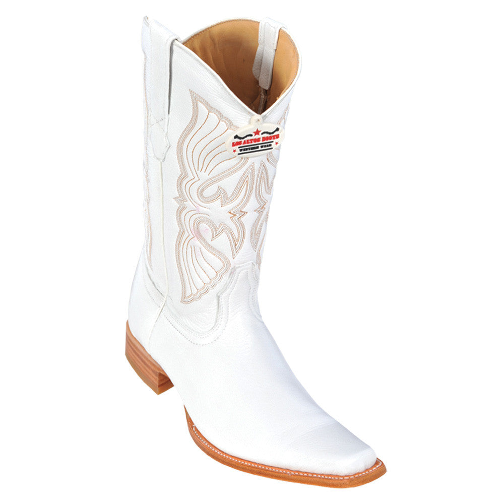 Los Altos Men's Deer European Toe Western Boot - VaqueroBoots.com - 2