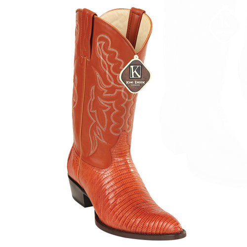King Exotic Men's Lizard Western Boots J Toe - VaqueroBoots.com - 1
