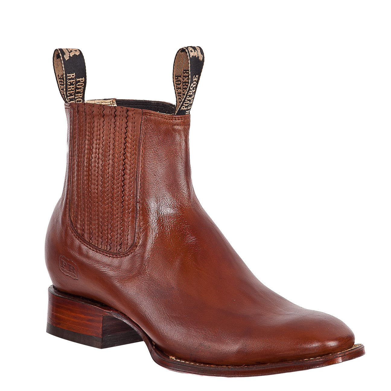 Potro Rebelde Square Toe Boots