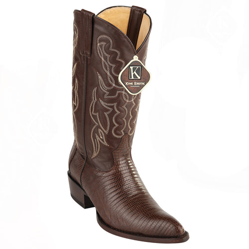King Exotic Men's Lizard Western Boots J Toe - VaqueroBoots.com - 2