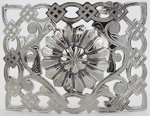 Charro Flower Design Buckle