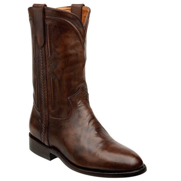 Cuadra Men's Traditional Roper Boot C301PR - VaqueroBoots.com - 2