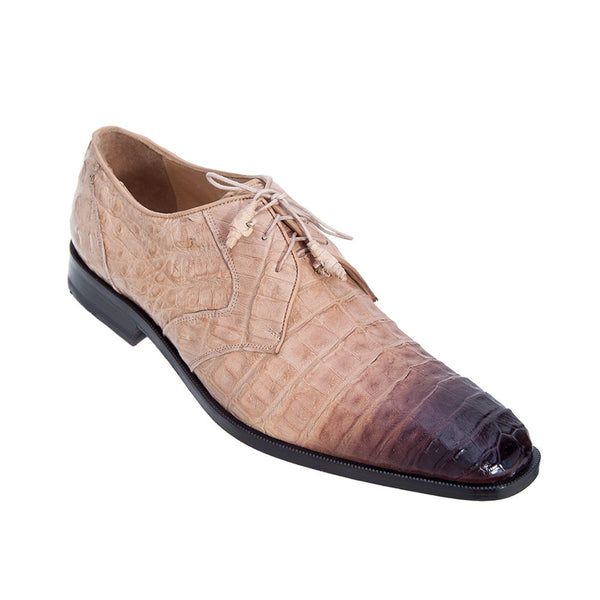 Los Altos Men's Caiman Dress Shoes - VaqueroBoots.com - 4