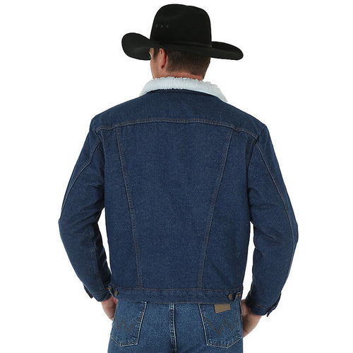 Wrangler Western Sherpa Lined Denim Jacket