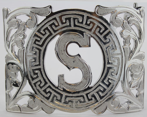 Charro Buckle With Letter S