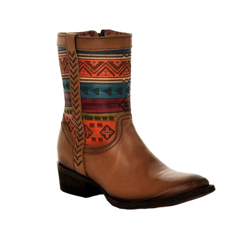 Cuadra Women's Hand-Painted Honey Boot - VaqueroBoots.com