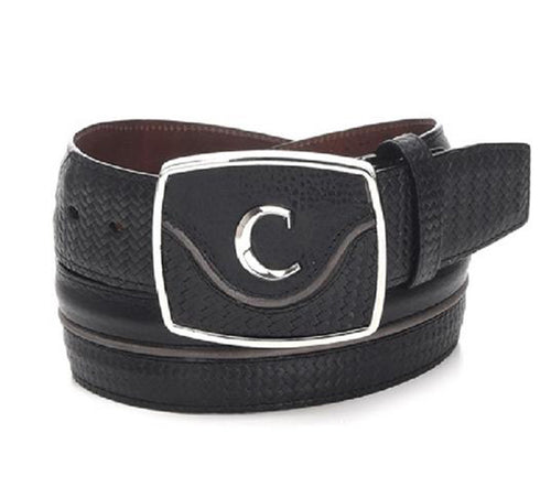 Cuadra Men's Modern Leather Belt