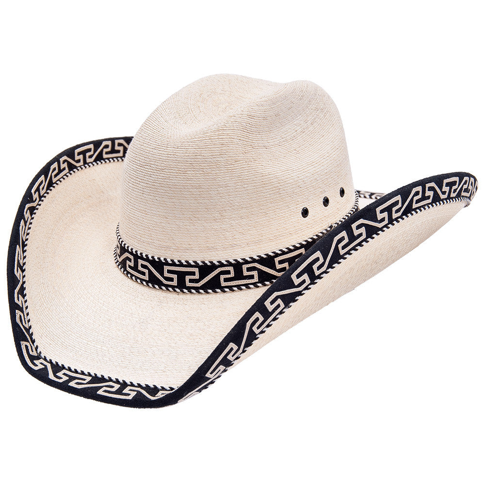 Sahuayo Palm Decorated Cowboy Hat - VaqueroBoots.com - 2