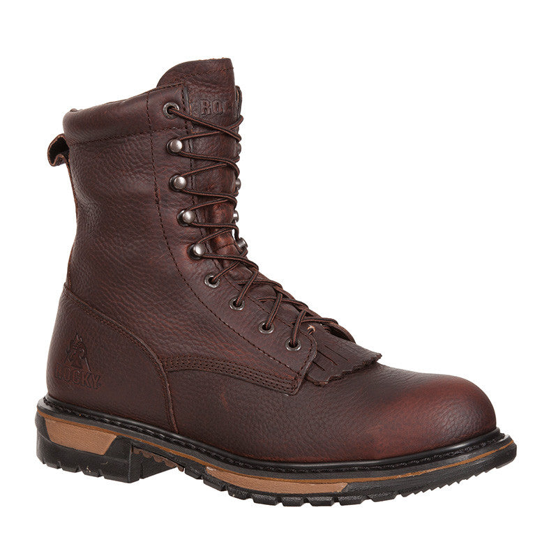 Rocky Original Ride Steel Toe Waterproof Lacer Western Boot - VaqueroBoots.com - 1