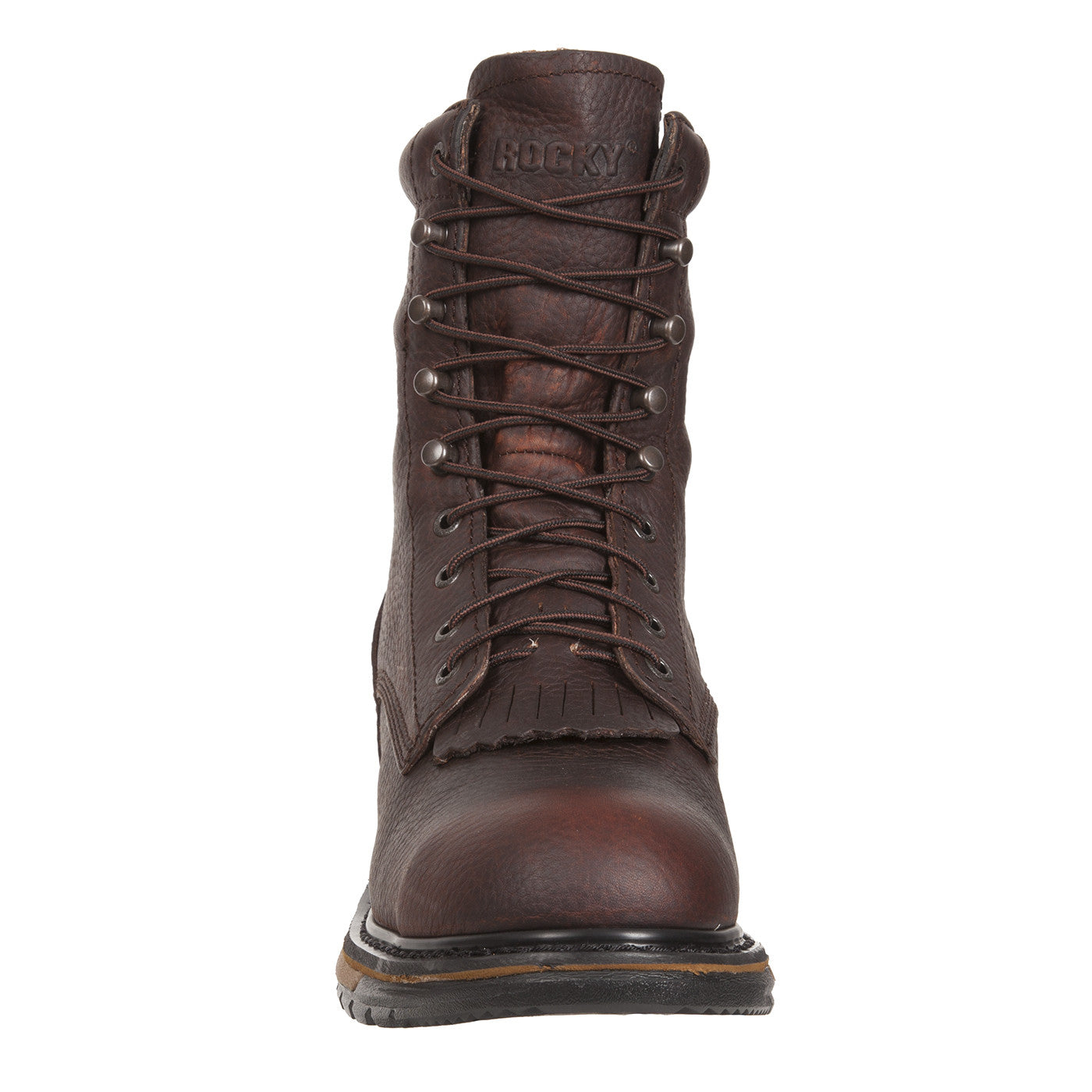 Rocky Original Ride Steel Toe Waterproof Lacer Western Boot - VaqueroBoots.com - 2