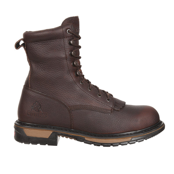 Rocky Original Ride Steel Toe Waterproof Lacer Western Boot - VaqueroBoots.com - 3